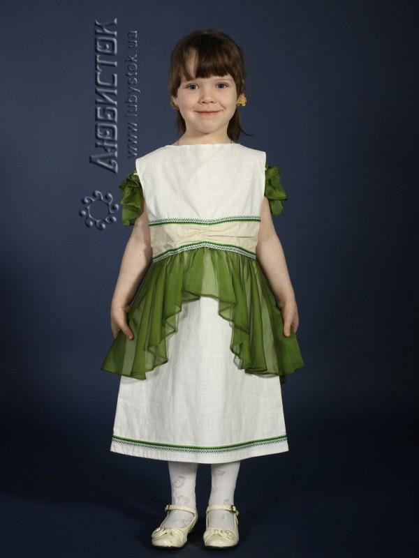 Вишита сукня для дівчинки ЖП 34-15