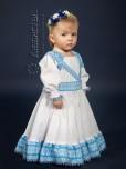 Вишита сукня для дівчинки ЖП 40-55