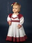 Вишита сукня для дівчинки ЖП 40-72