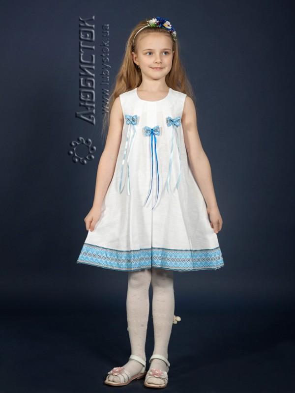 Вишита сукня для дівчинки ЖП 41-36