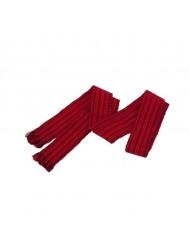 Пояс-крайка з червоною тканою вишивкою К-2