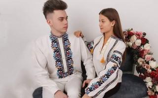 Барвисті вишиванки для пари ЧСВ113-ЖБВ77