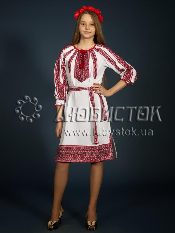 Вишите плаття ЖП 77-75