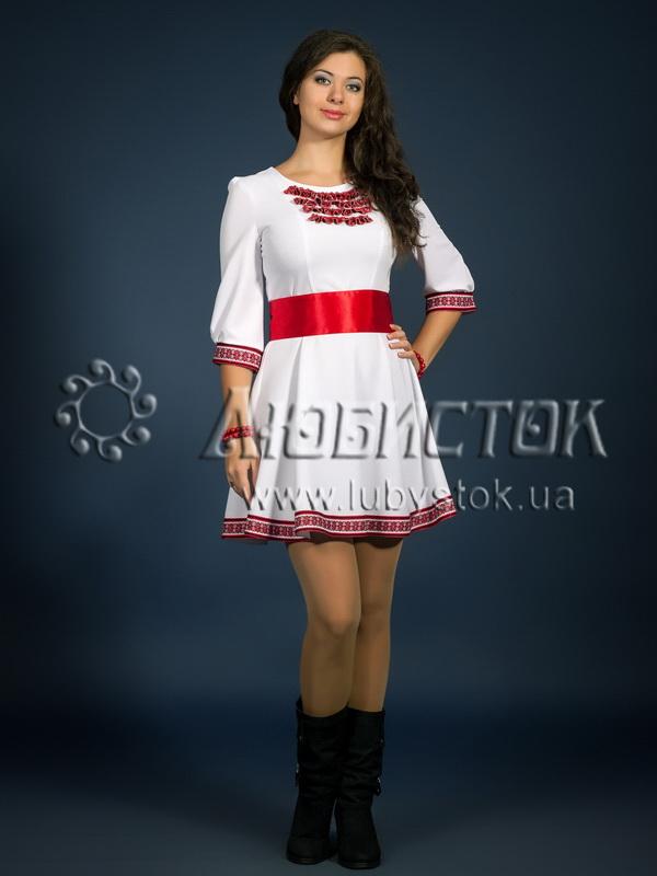 Вишита сукня ЖП 81-80