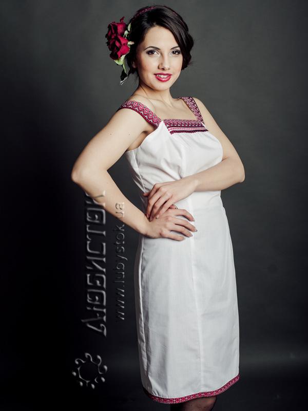 Вишите плаття ЖП 57-49