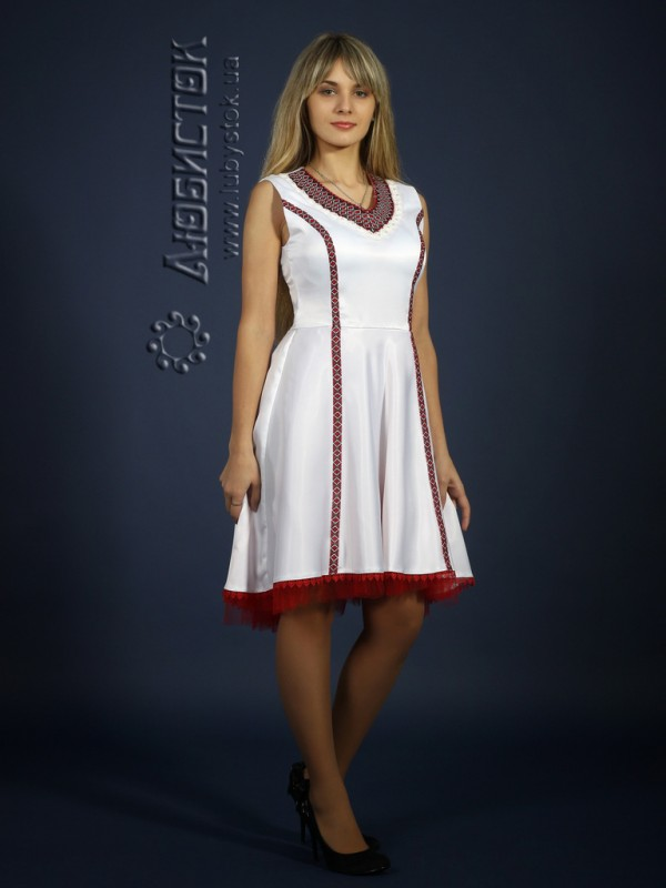 Вишите плаття ЖП 72-63