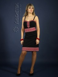 Вишите плаття ЖП 74-26bk