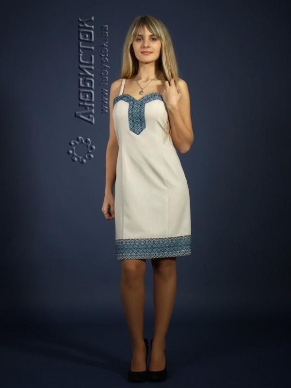 Вишите плаття ЖП 74-30