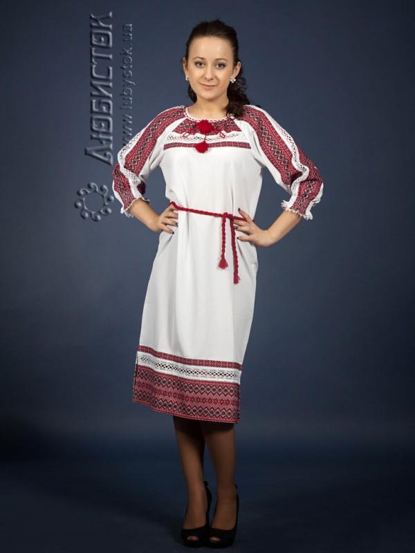 Вишите плаття ЖП 75-57