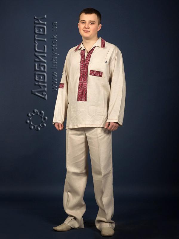 Вишитий чоловічий костюм КХ 17-26