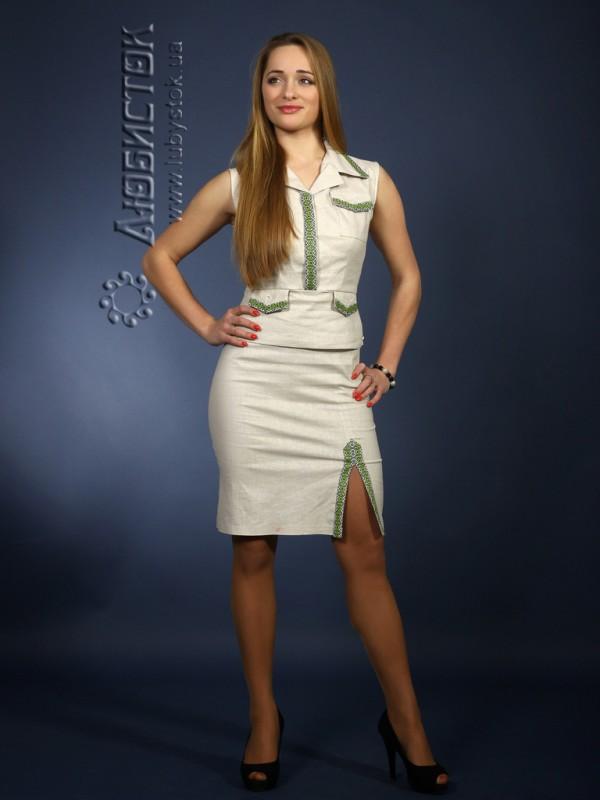 Вишитий жіночий костюм ЖК 62-31