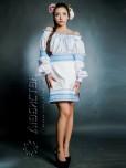 Вишитий жіночий костюм ЖК 78-55