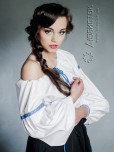 Вишита блуза ЖБ 107-58