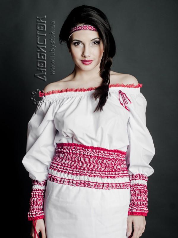Вишита блуза ЖБ 95-37