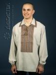 Вишита сорочка на льоні ЧС 14-76L