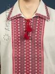 Вишита сорочка на льоні ЧС 15-75L