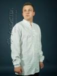 Вишита сорочка білим по білому ЧСВ 6-1L
