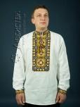 Вишита сорочка хрестиком ЧСВ 8-1