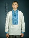 Вишита сорочка хрестиком ЧСВ 11-2